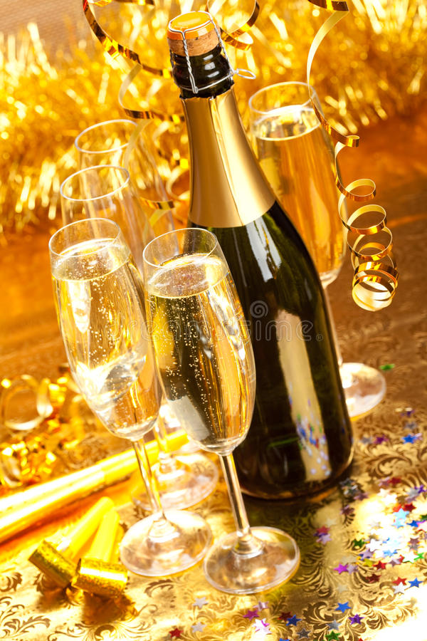 New Year - Party decoration royalty free stock image