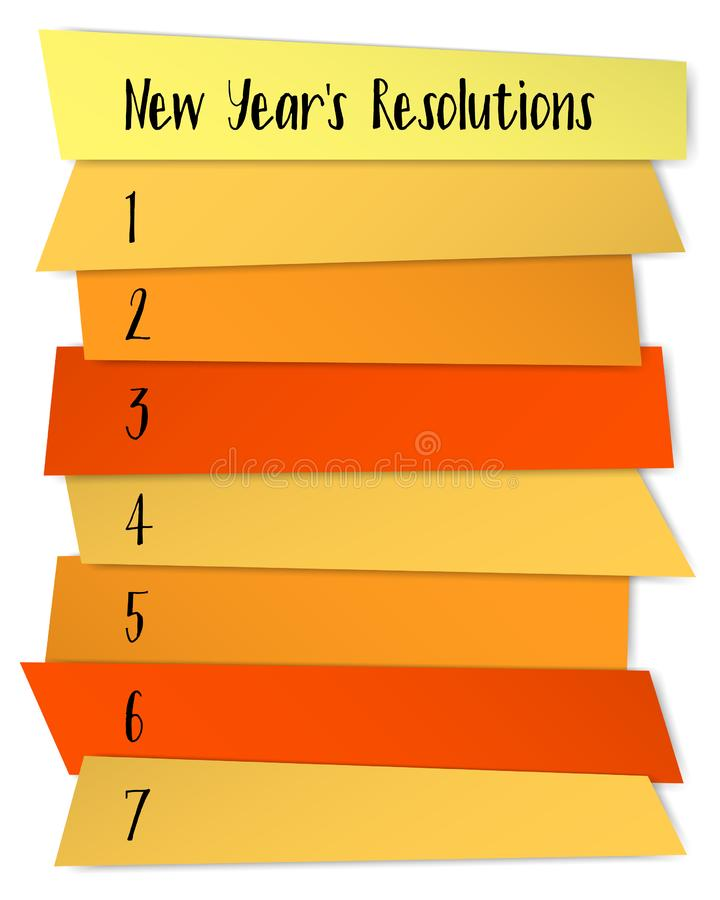 New Year Resolution List Template Stock Illustrations 150 New Year Resolution List Template Stock Illustrations Vectors Clipart Dreamstime