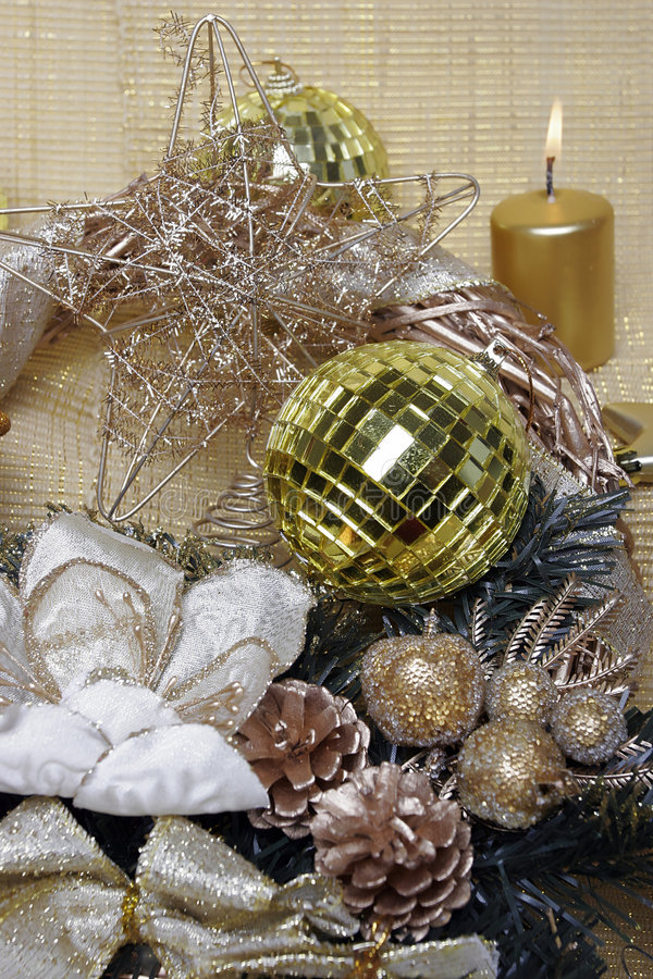 Free New Year S And Christmas Decoration Royalty Free Stock Images - 7050969