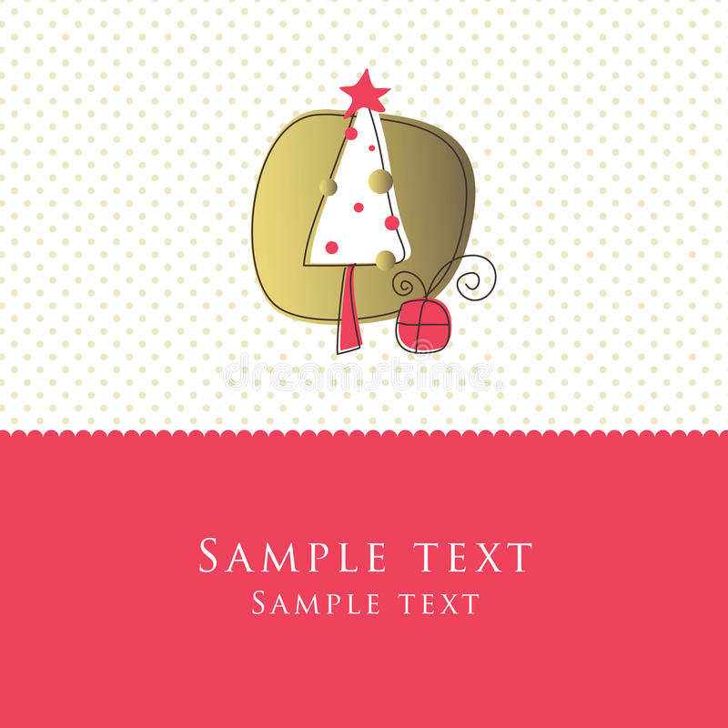New Year's card royalty free stock images