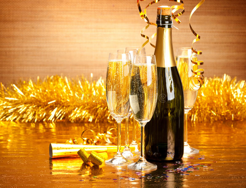 New Year's Day stock photos