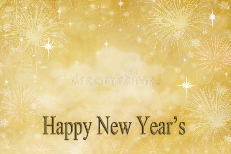 New Year's Day Background royalty free illustration