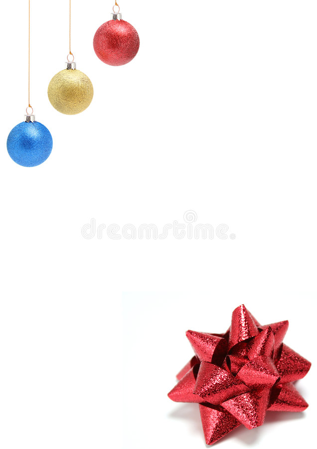 Download New Year's Decorations Of Red Yellow Color 2 Stock Image - Image: 1623501