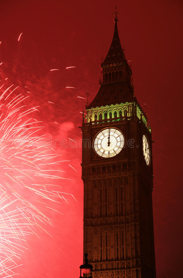 Download New Year's Eve Fireworks stock image. Image of historic - 21566455