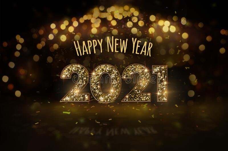 New Year`s Eve 2021 - Happy New Year Stock Illustration - Illustration of polish, background ...