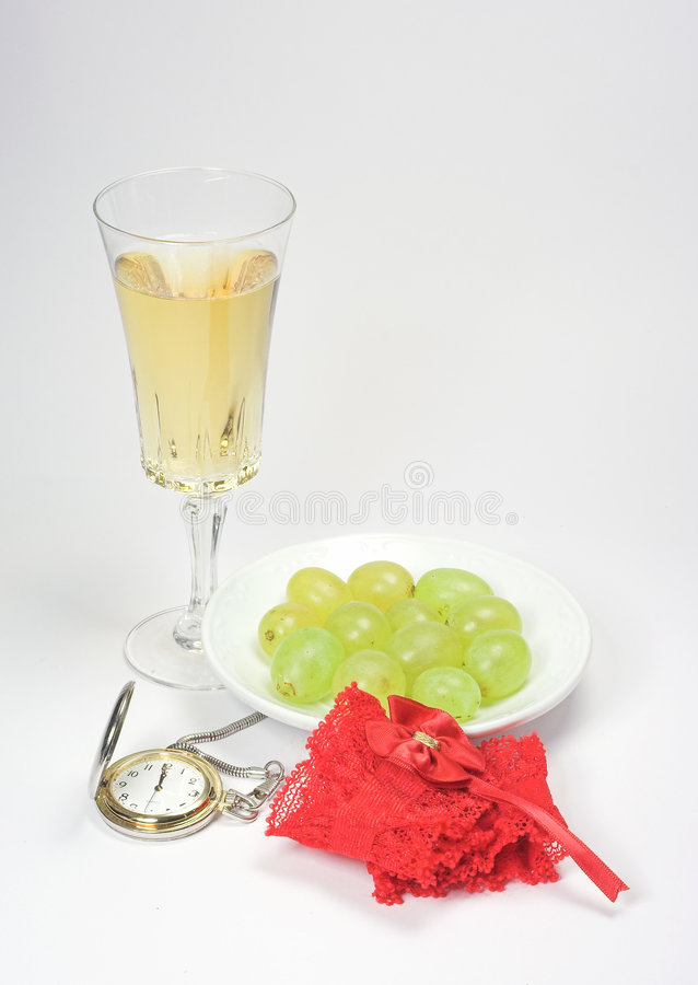 New Year's Eve in Spain royalty free stock image