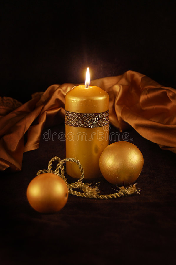 New Year's gold imagination stock images