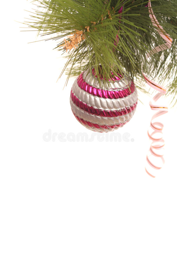 New Year's gold sphere stock photos