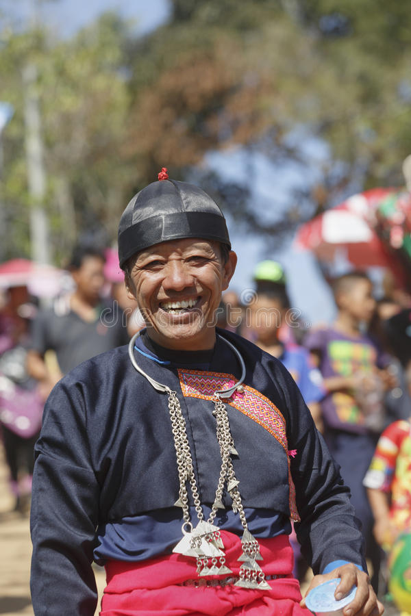 New Year's Hmong tribes royalty free stock photography