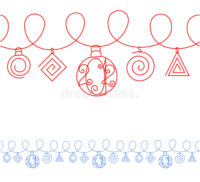 A New Year's illustration - 2012. royalty free illustration
