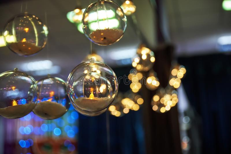 New year`s light bulbs. Winter Holiday Concept. Close up. holidays royalty free stock photo