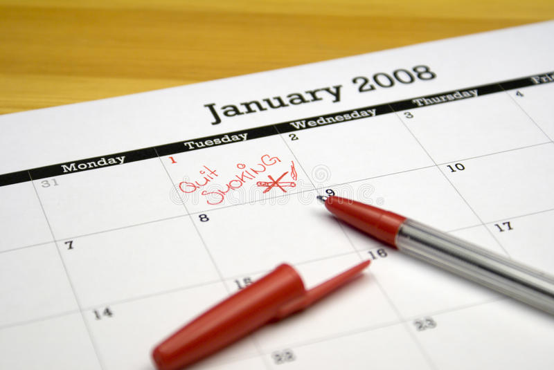 New Year's Resolution stock photos