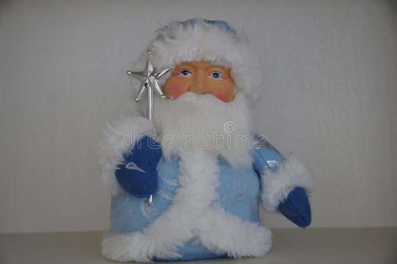 Statuette of Russian Santa Claus royalty free stock image