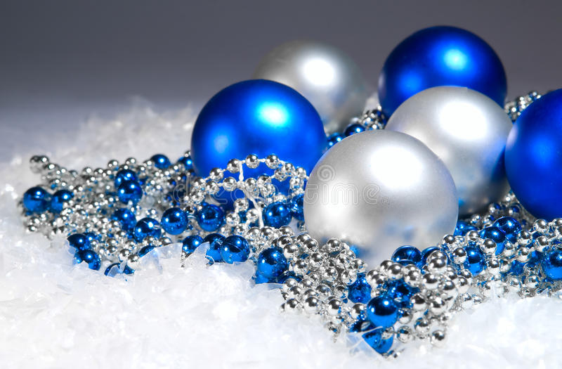 Download New Year's spheres stock image. Image of background, christmas - 12252947