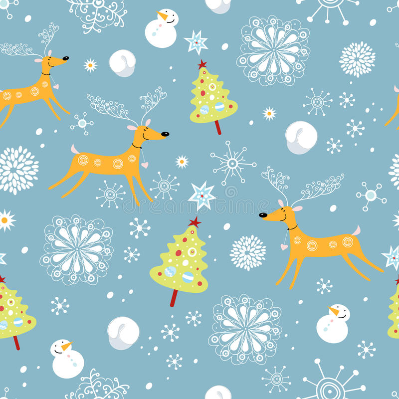 Free New Year S Texture With Deer Stock Photo - 16231590