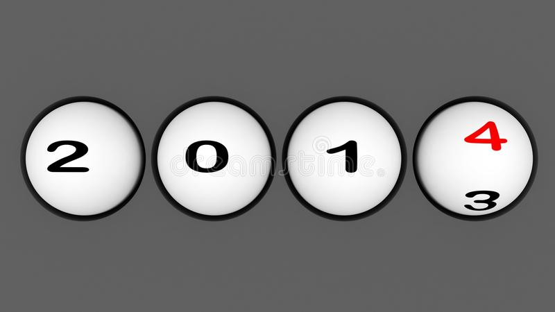 Download New Year 2014 Sphere Stock Photos - Image: 35746633