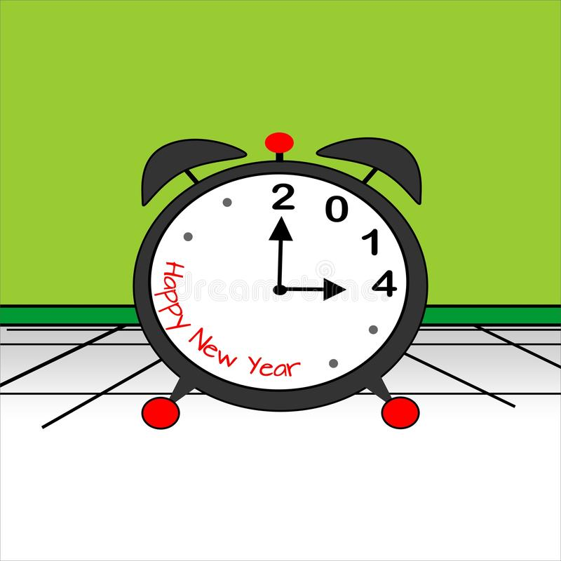 Download New Year, 2014 stock vector. Image of concept, lancets - 30739792