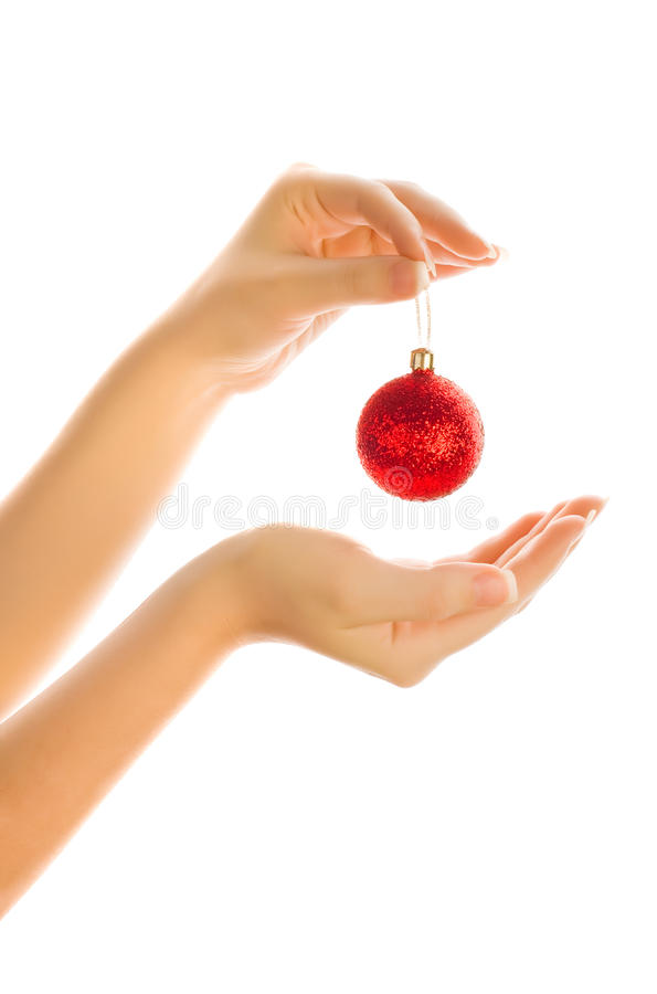 Download New year toy stock image. Image of isolated, ruby, shiny - 11766965