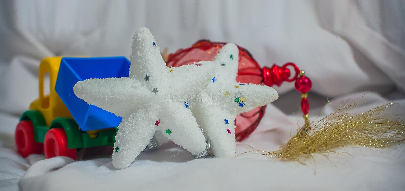 New year toys royalty free stock photos