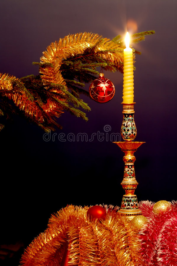 Free New-Year Tree Decorations Royalty Free Stock Photography - 1619957