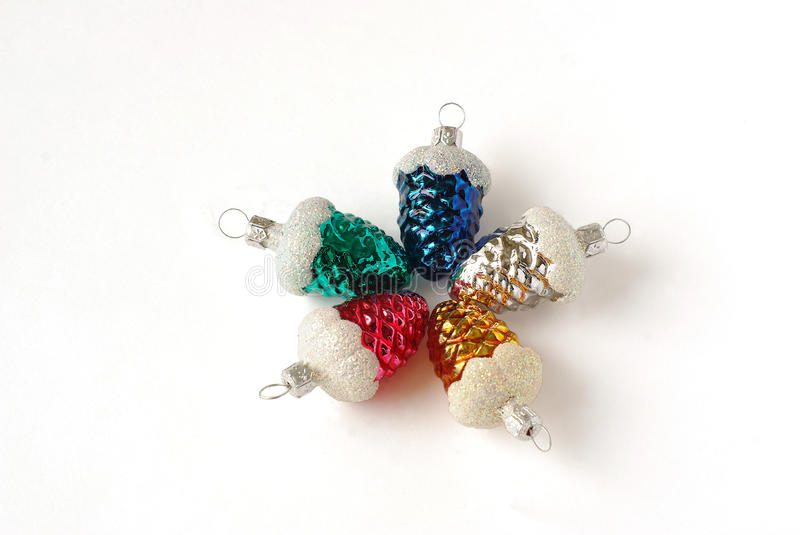 Download New-Year Tree Decorations #2 Stock Photo - Image: 12188404