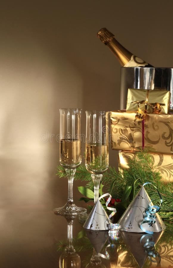 Download New Years stock image. Image of festive, black, ntoast - 22557917