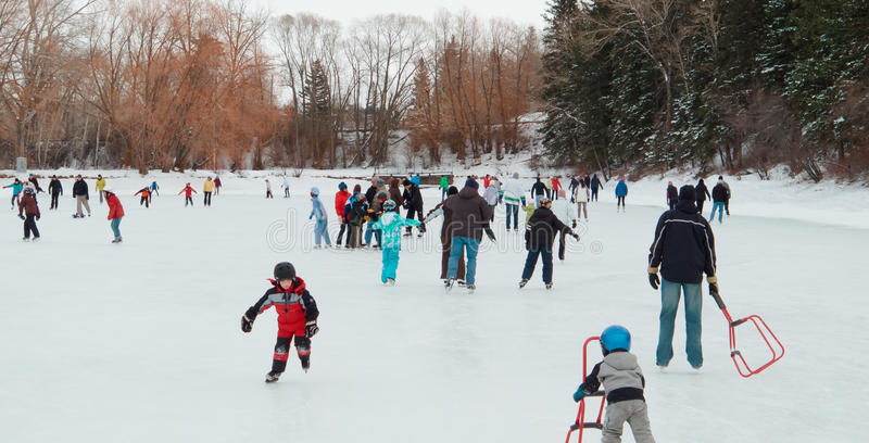 Download New Years Day Skating editorial image. Image of activity - 17633725