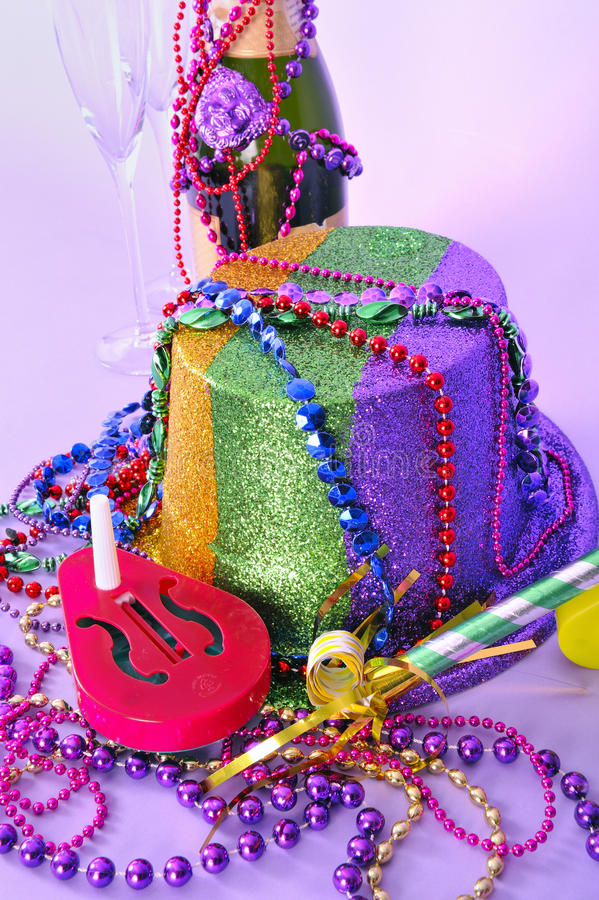 Download New Years Eve 2011 Party Still Life Stock Image - Image: 17210107