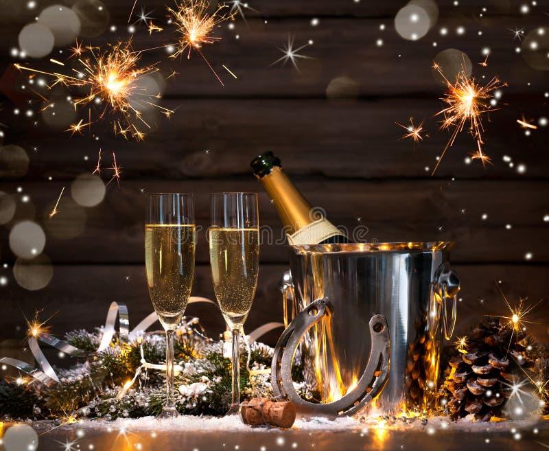 New Years Eve celebration royalty free stock images