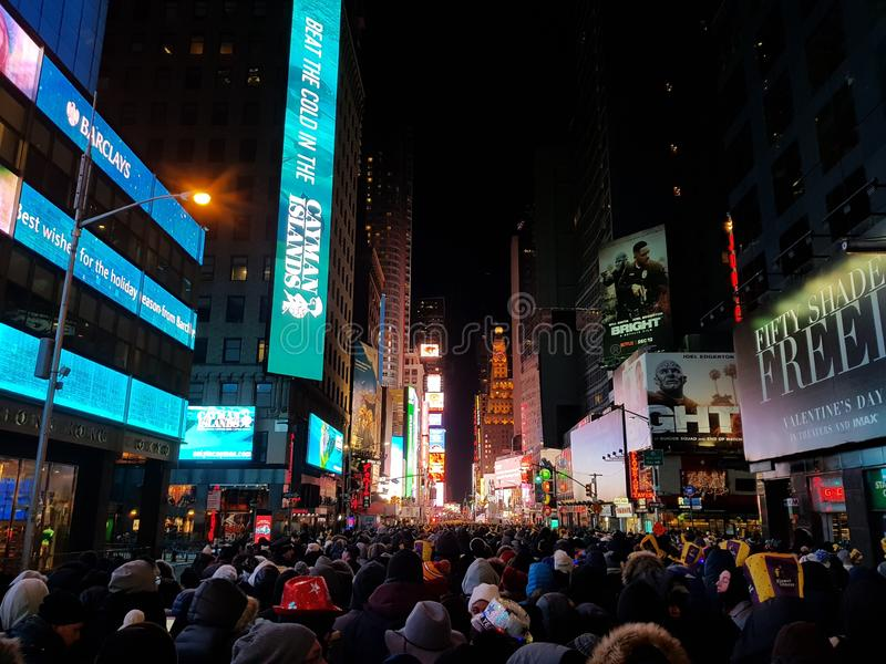 New years eve new york time square new york. New years eve new york  square new york stock photo
