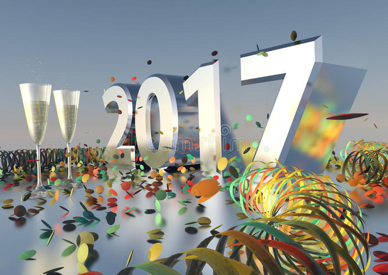 Download 2017 New Years Eve stock image. Image of season, life - 62475169