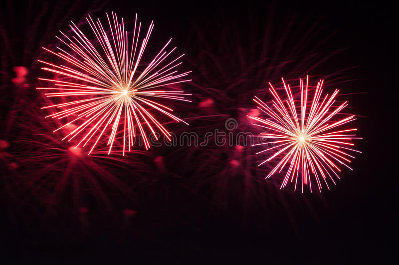 New years Fireworks royalty free stock images