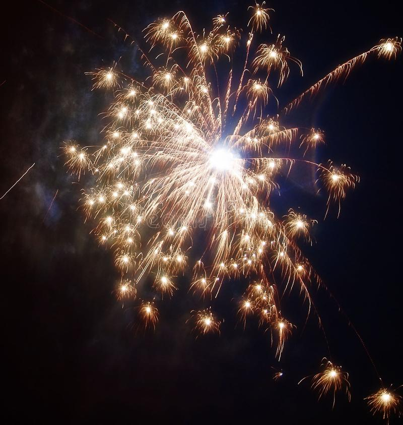 New Years Fireworks stock images