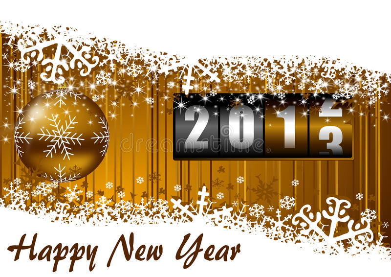 Download New years illustration stock illustration. Image of greetings - 26347245