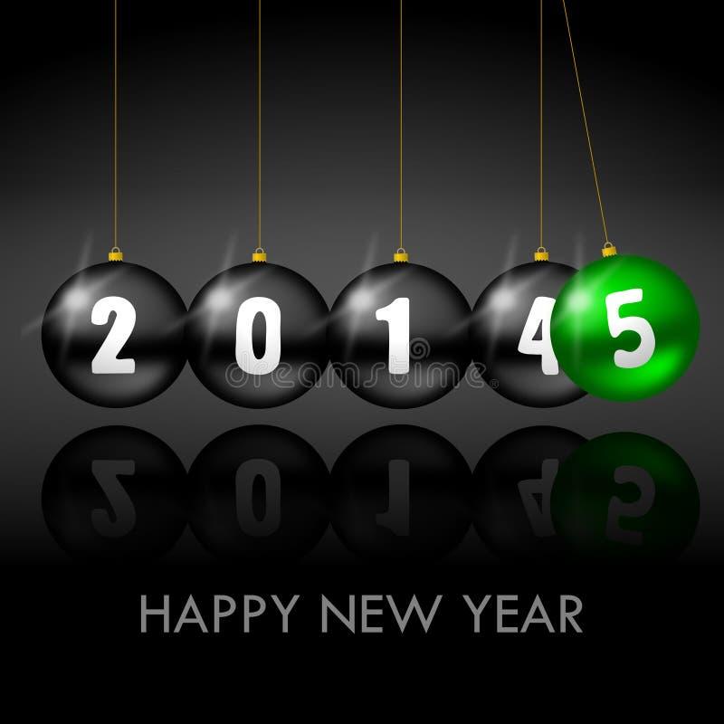 2015 new years illustration royalty free illustration
