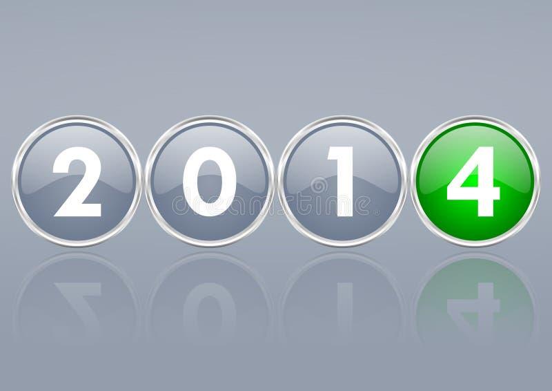 Download 2014 New Years Illustration Stock Illustration - Image: 36145889