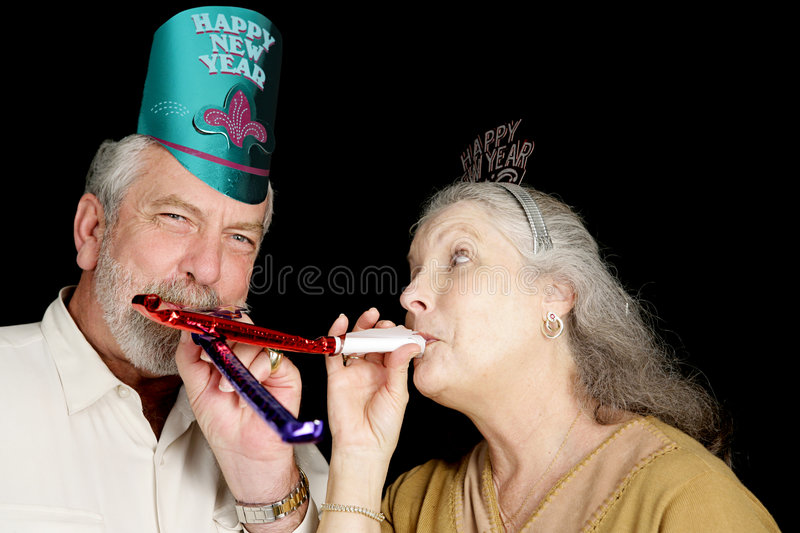 New Years Party Fun royalty free stock images