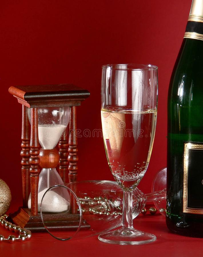 New Years still life stock image