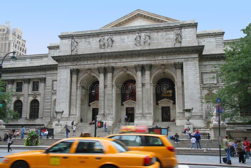 New- Yorköffentliche Bibliothek lizenzfreie stockfotos