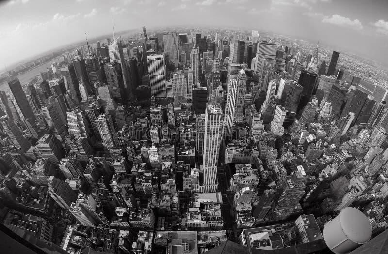 New York à partir du dessus images stock