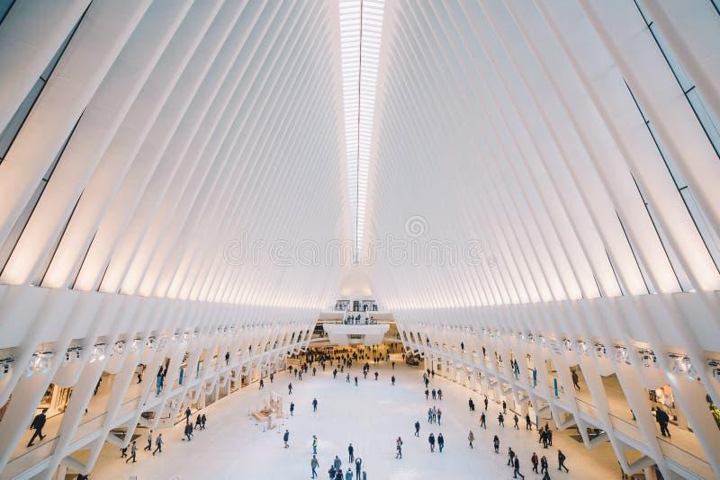New York Één World Trade Center stock afbeeldingen