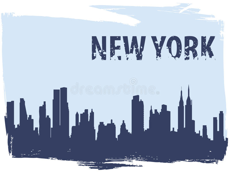 New York vector illustration