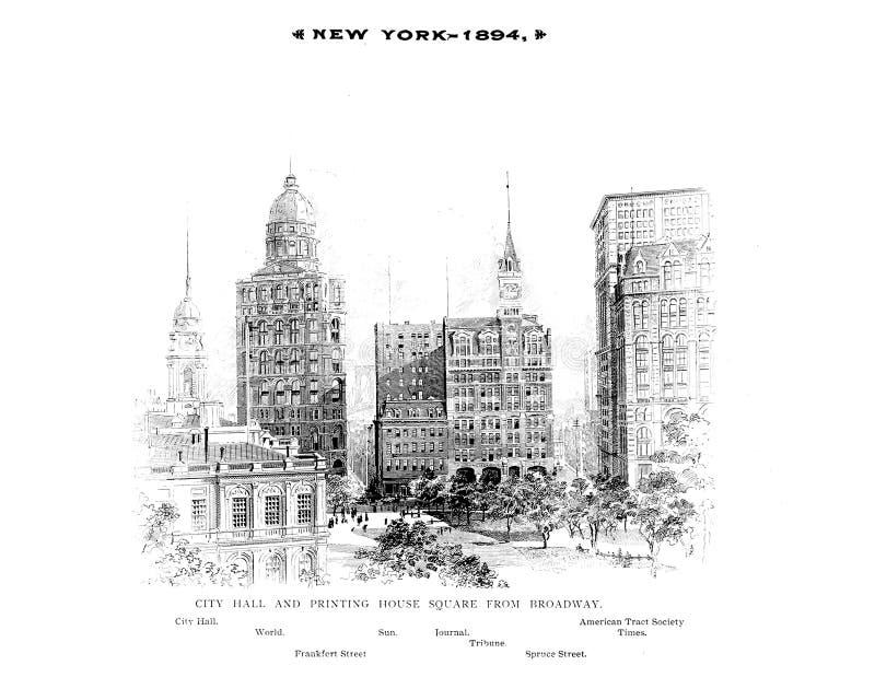 Нью-Йорк r бесплатная иллюстрация