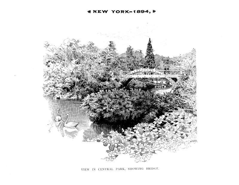 Нью-Йорк r иллюстрация вектора