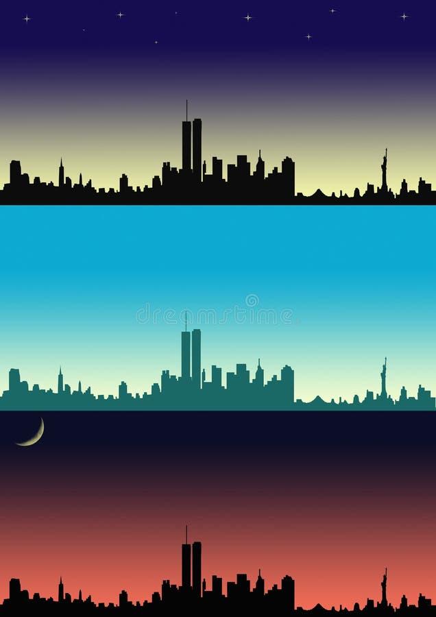 New York stock illustratie