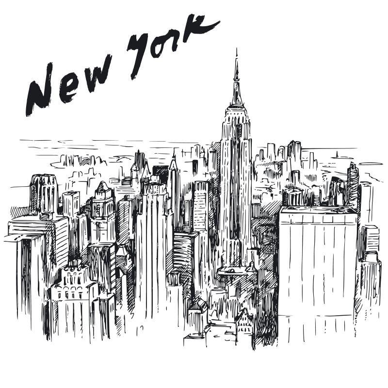 New York stock illustrationer