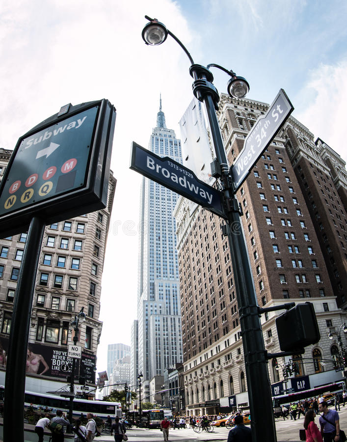 New York photographie stock libre de droits