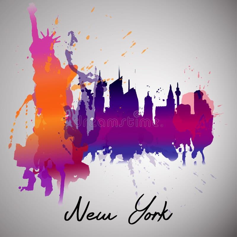 New York ilustração stock