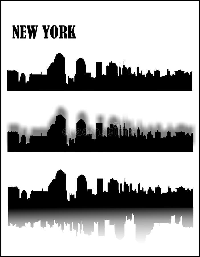 New York illustration stock