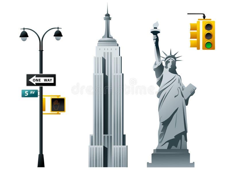 New York ilustração do vetor